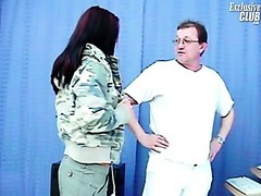 Sara gyno exam including cunt speculums exam and cunt enema