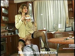 Christie&Richard anal mom on video