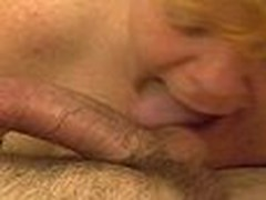 Mature Redheaded Cocksucker