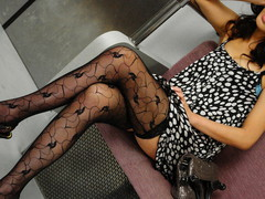 Asami Yoshikawa Pretty Japanese hottie gets cookie licked in the subway