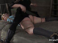 blonde punk slut being disciplined